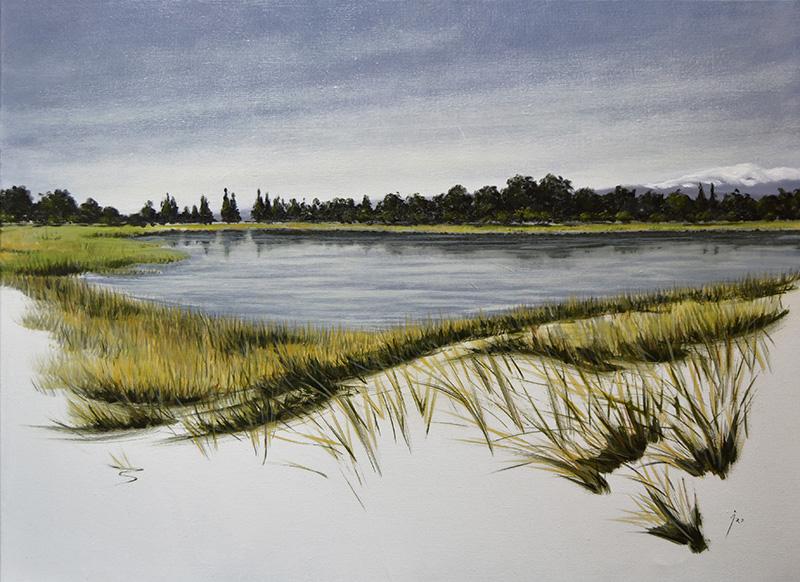 """Moncayuelo"", óleo sobre lienzo 80x60"